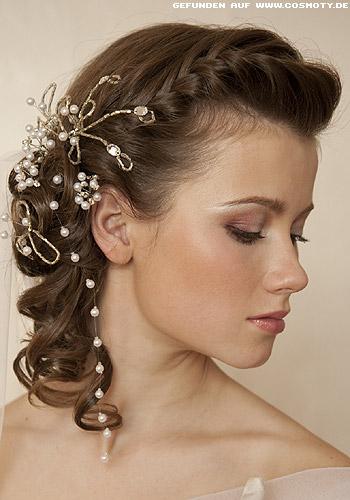 Peinados Para Novia En Cabello Corto Vestidos De