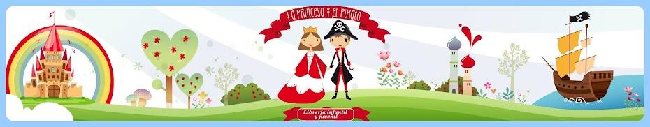 Librería infantil y juvenil: La princesa y el pirata