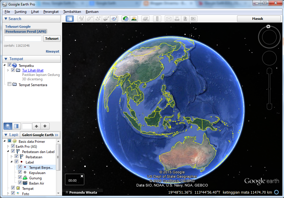 Download Google Earth Pro 1.3.25.11 Gratis,free,full version
