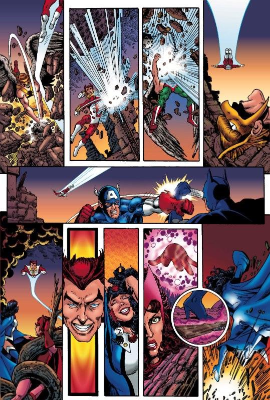 jla vs avengers cbr