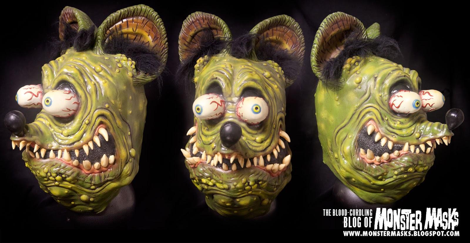 Blood Curdling Blog of Monster Masks: Monster Mask Collection Pics