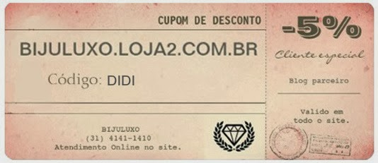 Parceria ♥ Biju Luxo