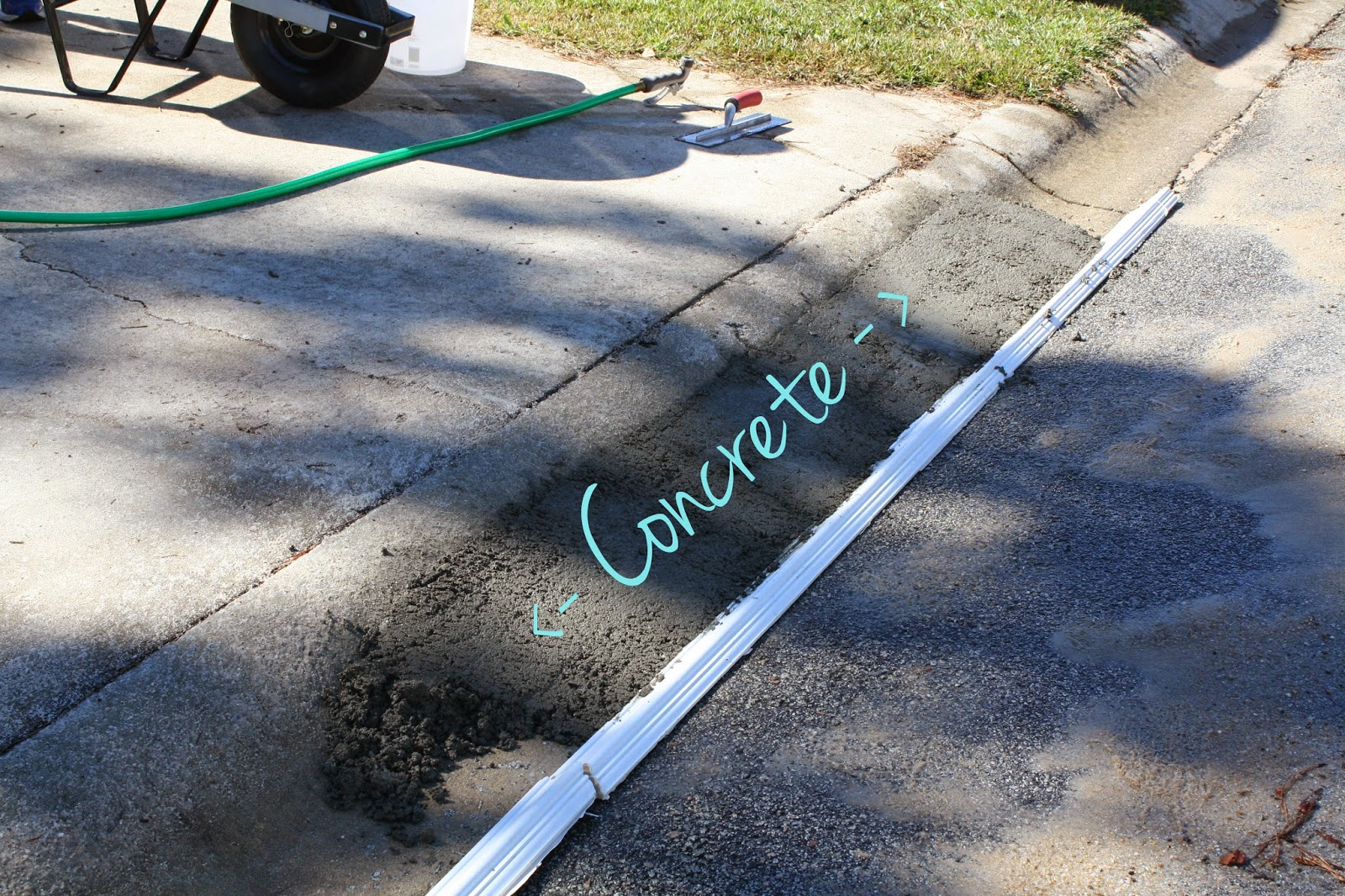 Pouring concrete images reverse search for How to pour a concrete driveway