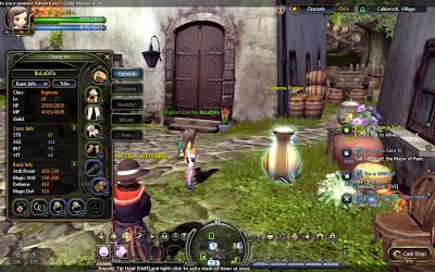 Dragon Nest - Stats Window