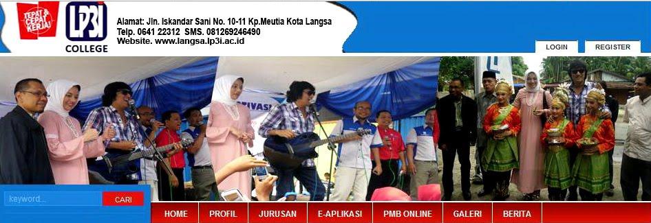 Ikang Fawzi & Marissa Haque Duta LP3I di Langsa, Aceh Timur, Maret 2011
