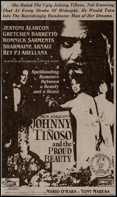 Johnny+Tinoso and the Proud Beauty, movie poster