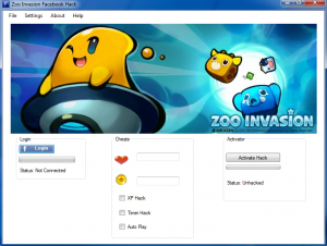 Zoo Invasion Cheats and Hack v.1.55