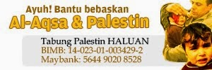 Kerna mereka adalah pejuang kita dibarisan hadapan dalam membebaskan Masjidil Aqsa