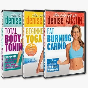 NEW! You Can Do It! With Denise Austin DVDs