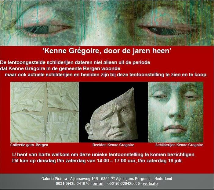 Kenne Grégoire bij Galerie Pictura