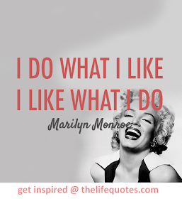 Funny Inspirational Marilyn Monroe Quotes