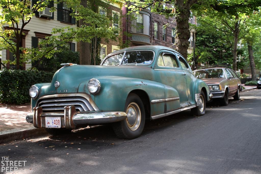 the street peep 1946 oldsmobile series 98