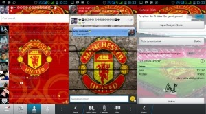 Download BBM MOD Manchester United APK Android
