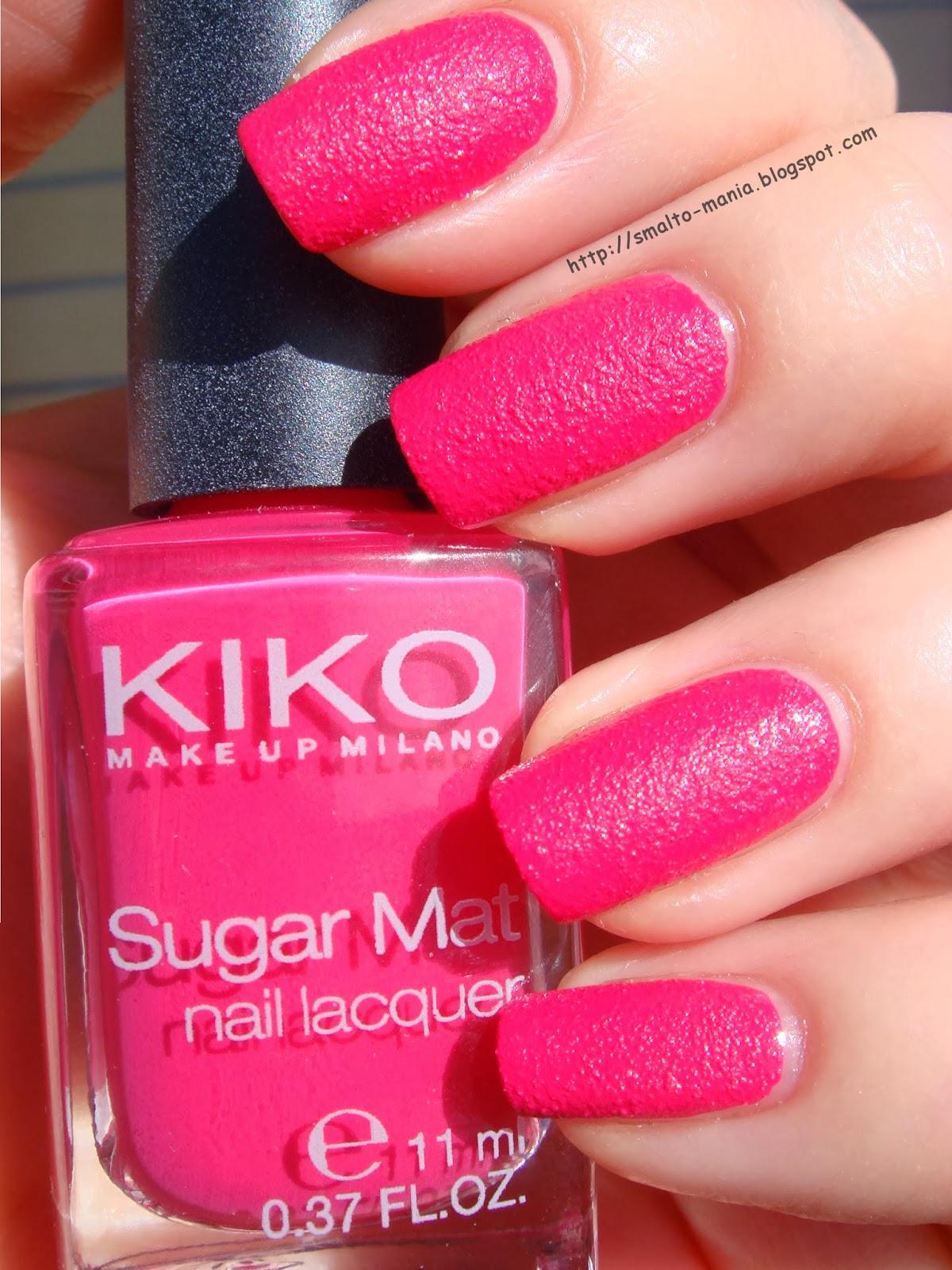 Kiko Sugar Mat n.633 Magenta