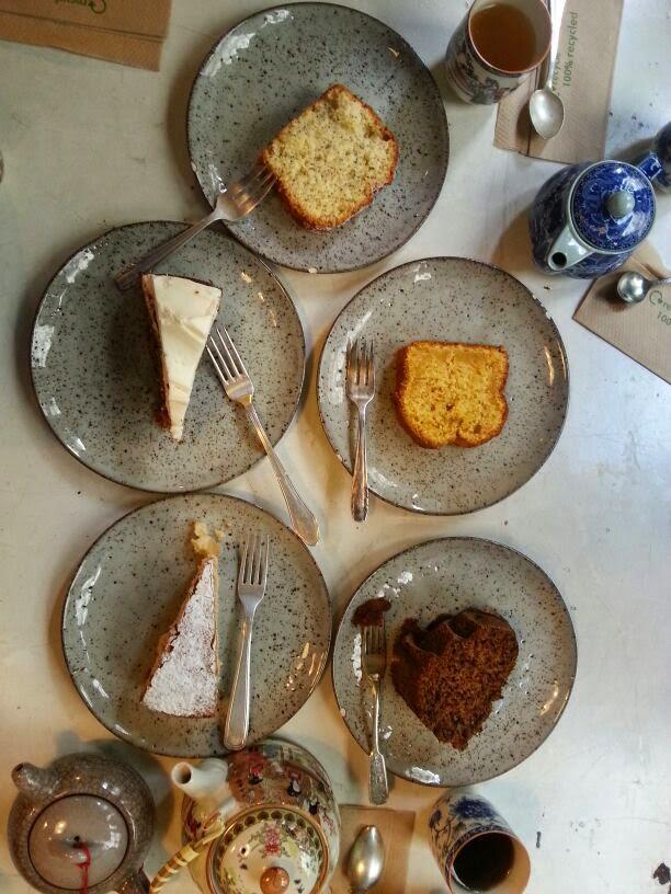 Il Tavolo Verde, Organic Café y Anticmarket, cakes, restauración, stlyle, restaurante organico en Madrid