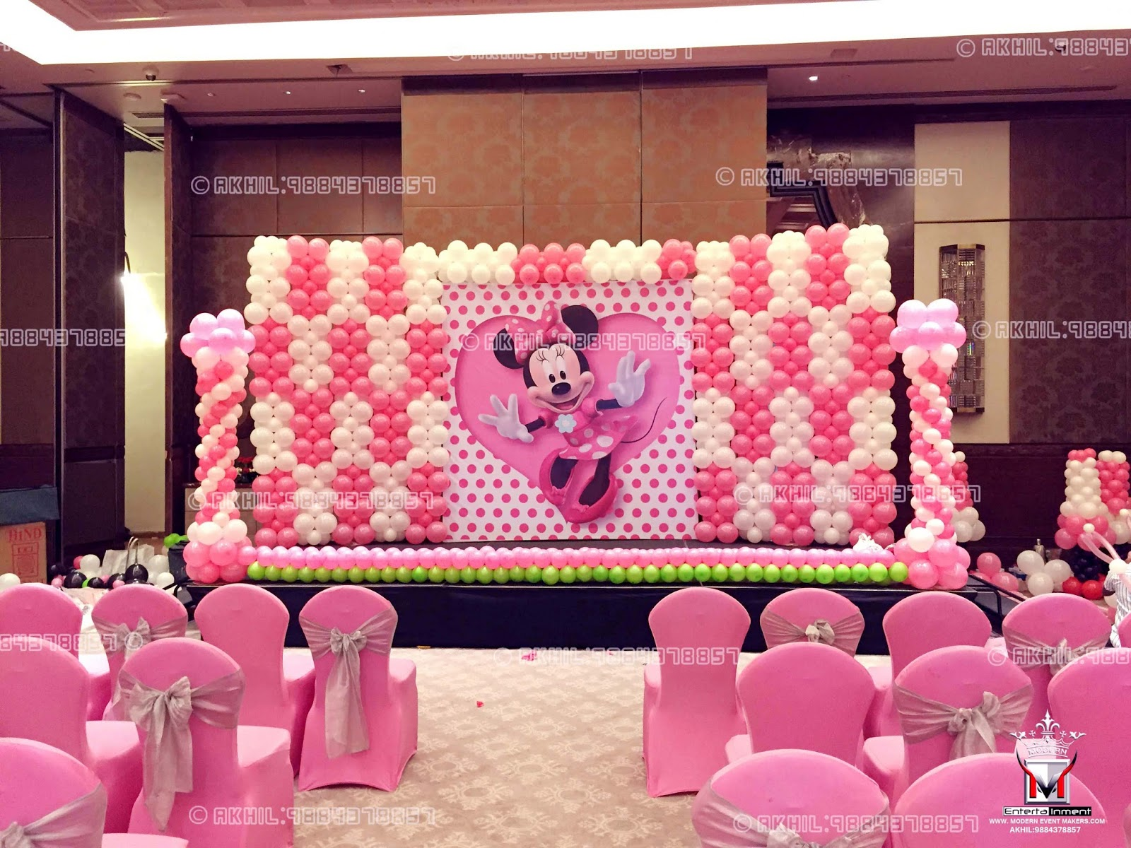 Balloon Decoration In Chennai MrAkhil 9884378857