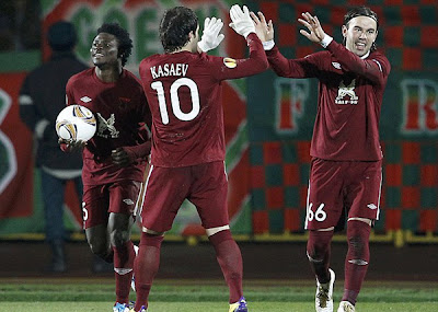 Rubin Kazan 1 - 0 Tottenham (1)