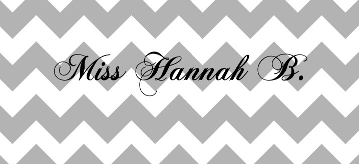 Miss Hannah B.