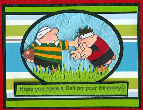 My Scrappy Spot Rugby Birthday – Rugby Birthday Cards