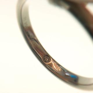 FURRER-JACOT インサイドストーン ダイヤモンド 鍛造 シンプル 結婚指輪 プラチナ ゴールド パラジウム 強度