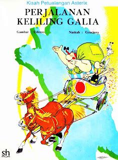 eBook Komik Bahasa Indonesia Asterix - Perjalanan Keliling Galia
