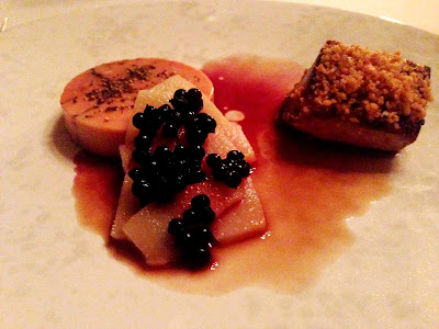 Stitch and Bear - Restaurant Forty One - Foie Gras Two Ways