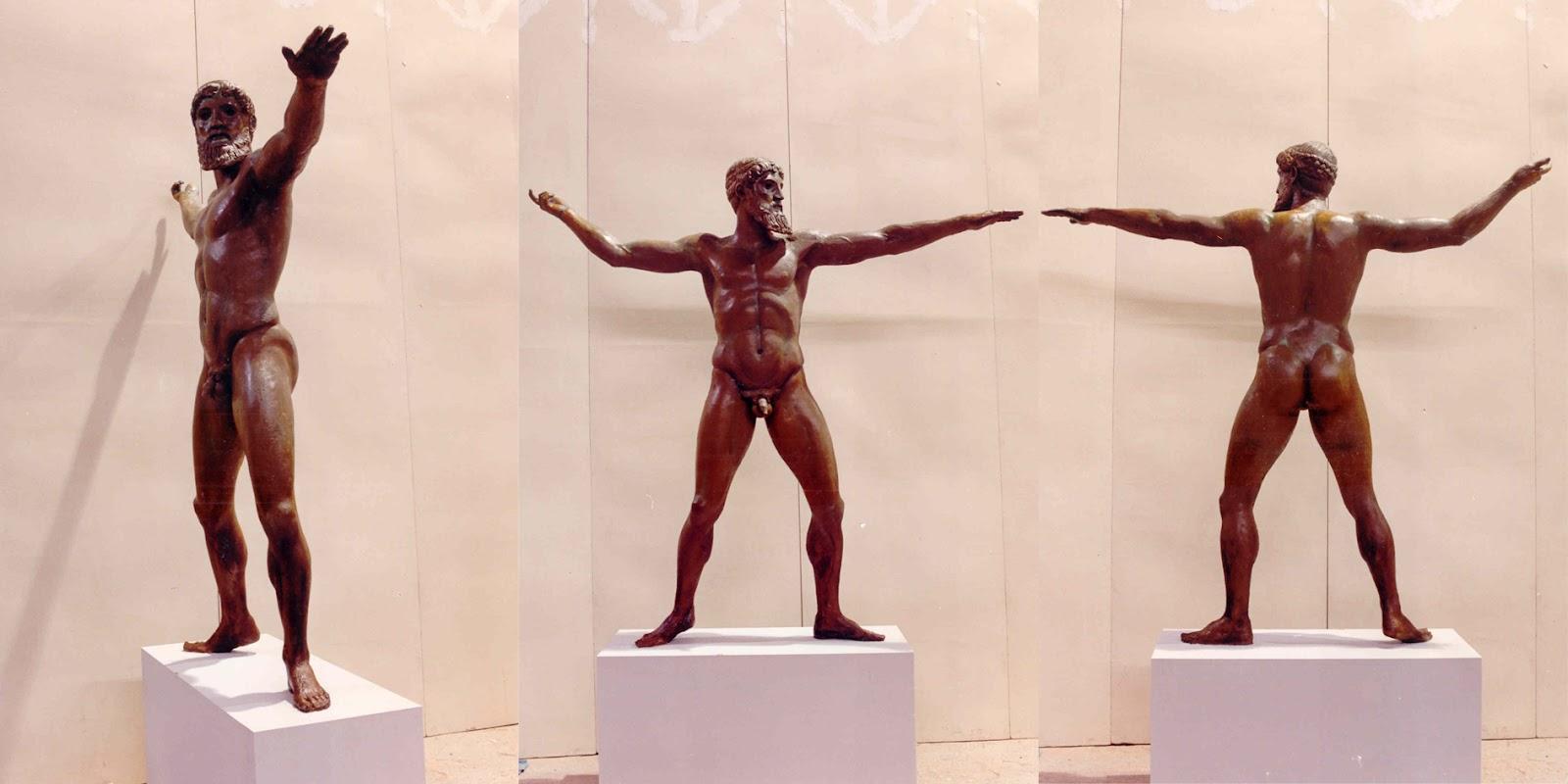 Real statue of zeus ancient greek statue of zeus in the movie zeus is