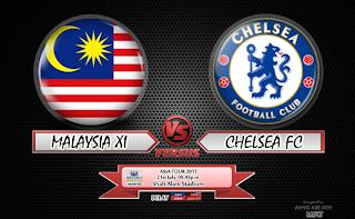 Keputusan Malaysia XI vs Chelsea FC 21 Julai 2013