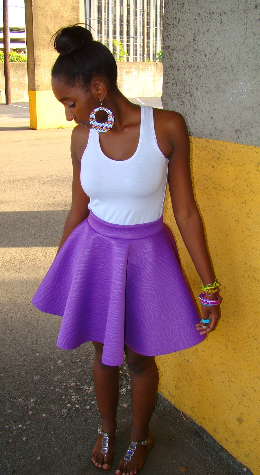 Fluffy Poly Skirt !