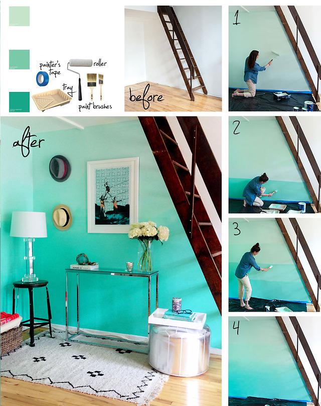 Bella ella tecnica para pintar una pared - Tecnicas para pintar una habitacion ...