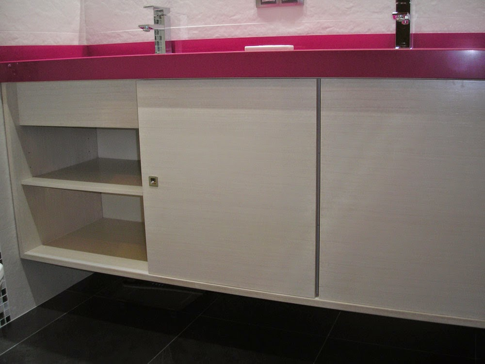 Mueble de lavabo a medida muebles cansado zaragoza carpintero ebanista artesano - Muebles a medida en zaragoza ...