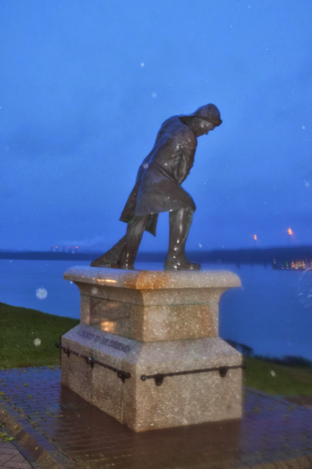Country Kids The Rath The Fisherman Sculpture  Memorial Milford Haven