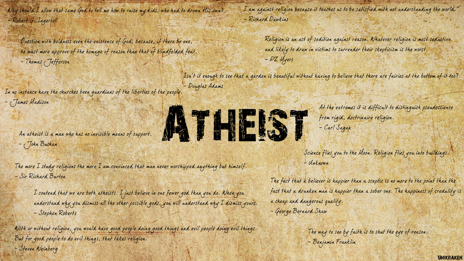 Funny Atheist Quotes