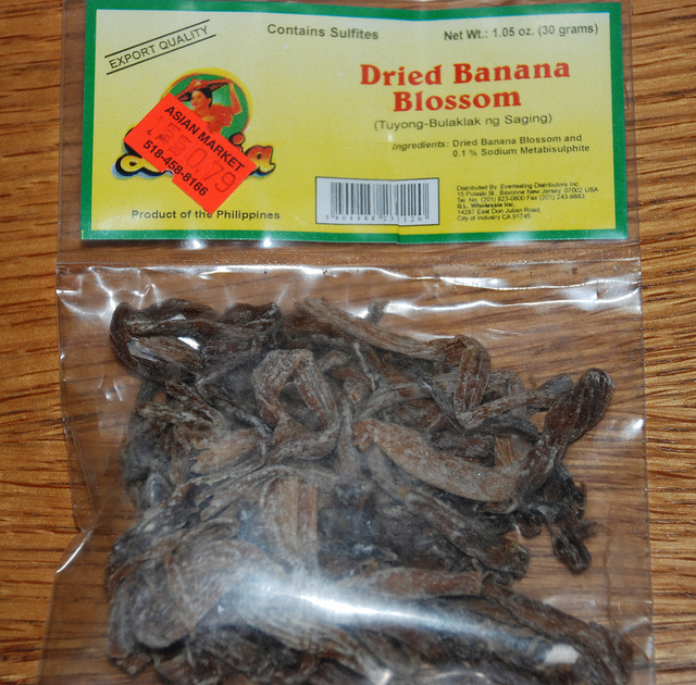 I Want My Umami Dried Banana Blossoms Or Are They