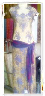 model kebaya brokat