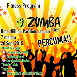 Shaklee Labuan; Zumba free Labuan; Group paling aktif; Shaklee slimming program