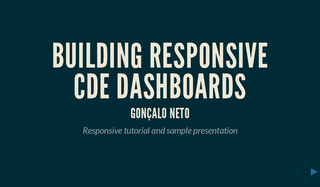 Ctools responsive tutorial and presentation framework teaching the rest of us how to develop responsive dashboards in cde since most of this group usually used the standard blueprint grid this tutorial malvernweather Images