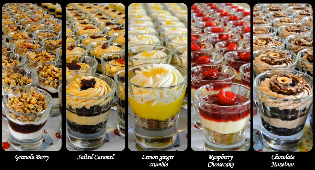 Baking maniac birth announcement gift boxes for Mini dessert recipes in shot glasses uk