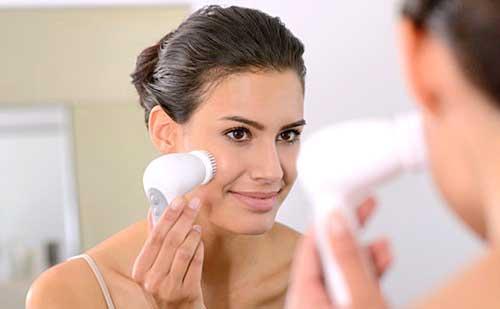 Como usar tu cepillo limpiador facial paso a paso