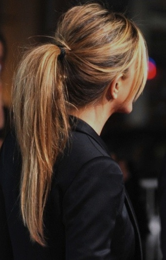 3 tips for the PERFECT PONYTAIL, Jennifer Aniston, hair tutorial