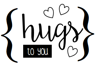 hugs to you free card sentiment