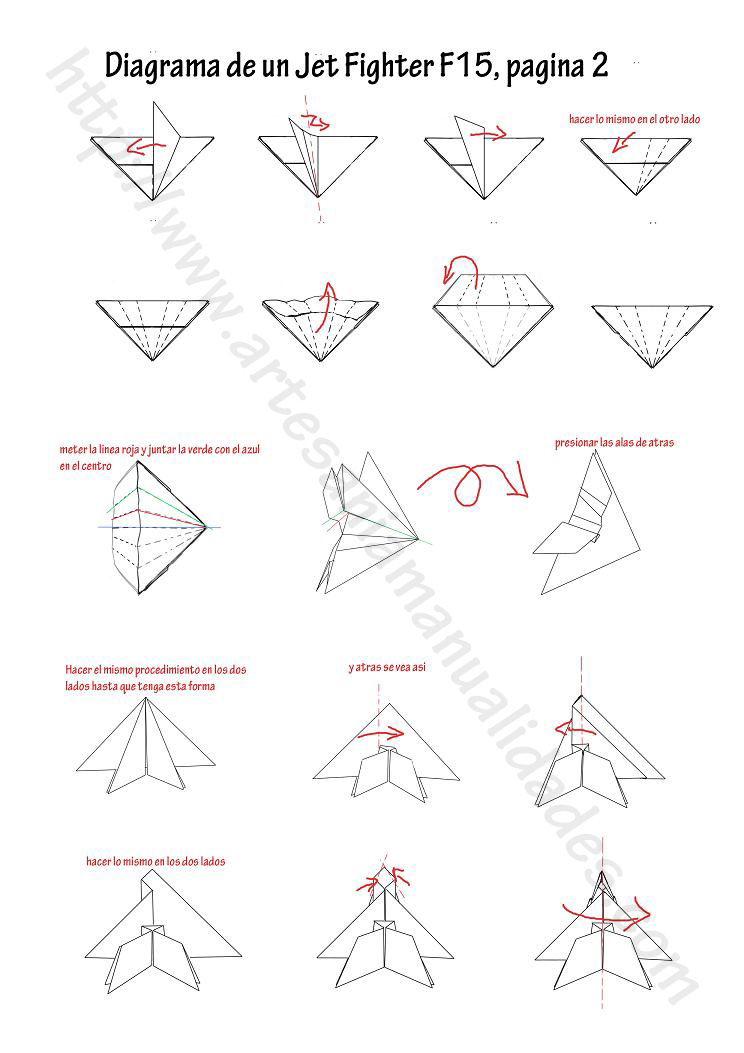 pin origami jet on pinterest