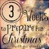 3 Weeks To Prepare For Christmas Series