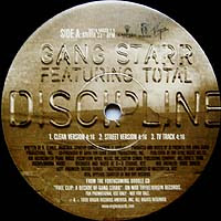 Gang Starr – Discipline / Just To Get A Rep (VLS) (1999) (320 kbps)