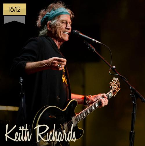 18 de diciembre | Keith Richards - @officialKeef | Info + vídeos