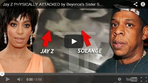 Jay Z attaqué par sa belle-soeur Solange Knowles