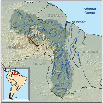 guyana land of many waters essay Guyana is an amerindian word meaning the land of many waters  attempts to forge a common identity have foundered, and it is more accurate to speak of african, indian, and amerindian guyanese cultures.