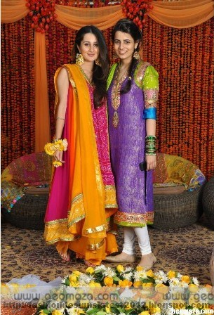 Stylish-Mehndi-Dresses-Designs-For-Brides