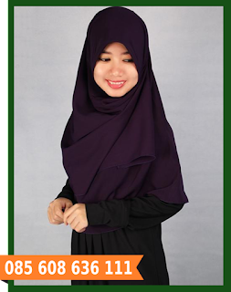Jilbab segi empat cantik