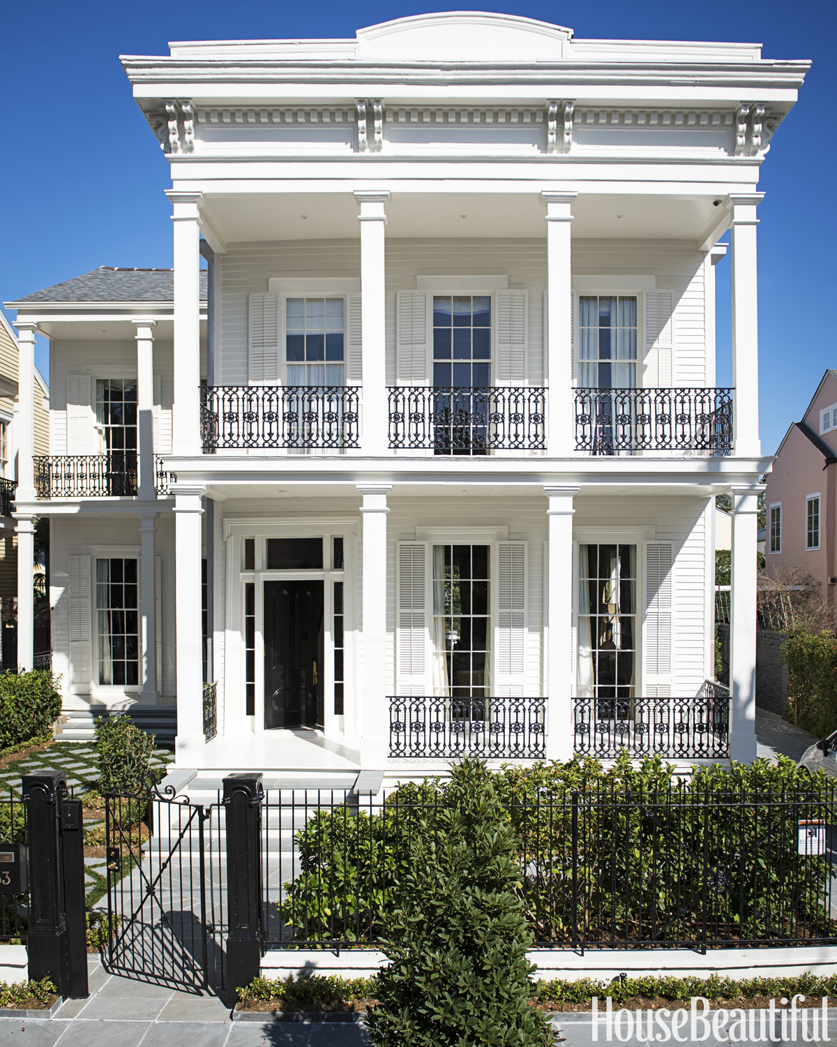 Loveisspeed tour a historic new orleans house full for New home architecture